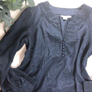 Vineyard Vines silk blouse Sz 14